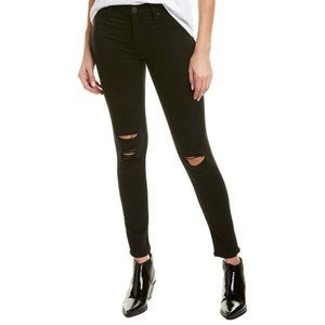 NWT Hudson Black Distressed Skinny Ankle Jeans